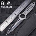 HX material estilo de dardos cuchillo de caza de la supervivencia al aire libre todo 4Cr13 cuchillo cuchilla diseño integrado que acampa herramientas de mano