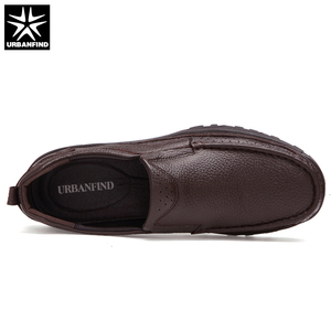 Image 5 - URBANFIND Genuine Leather Men Dress Shoes Big Size 38 48 Good Quality Man Formal Business Oxfords 2 Styles