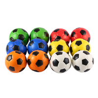INBEAJY new quality 10cm 12PCS Football Stress Relief Sponge Foam Balls Hand Exercise Squeeze Toy