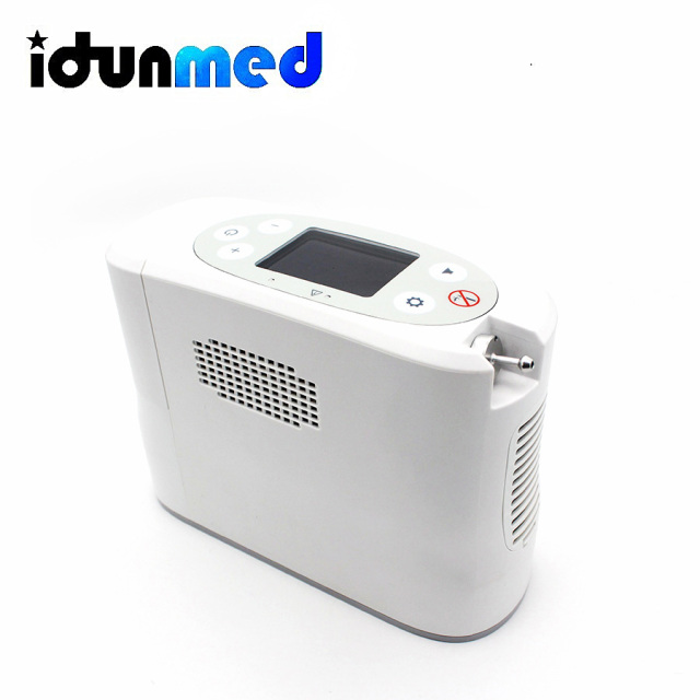 idunmed Oxygen Concentrator Generator Portable Mini Machine With Oxygen Cannula Battery Operated For Travel Outdoor Home Driving 8