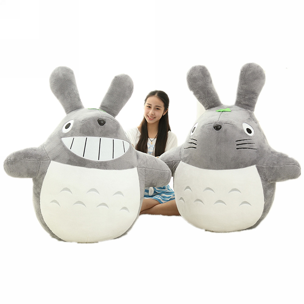 Fancytrader 71'' Biggest Anime Totoro Plush Toy JUMBO Stuffed Soft Cartoon Totoro Kids Doll Hugging Pillow Great Gift 4 Sizes