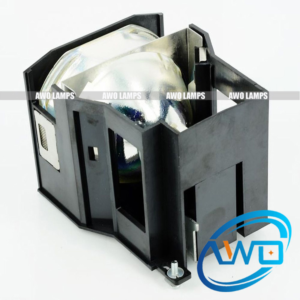 AWO Quality Projector Lamp ET-LAD7700 (1 UNIT) with Housing for PANASONIC PT-D7700/D7700EK/D7700K/DW7000/DW7000K/L7700/LW7700 awo compatibel projector lamp vt75lp with housing for nec projectors lt280 lt380 vt470 vt670 vt676 lt375 vt675