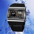 Black OHSEN Digital LED Date Rubber Sport Waterproof Mens Boy Watch Gift OH03