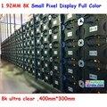 Маленький пиксель светодиодный дисплей, 1.92 HD 8 К ultra clear, 400 мм * 300 мм, высокая referesh, высокий коэффициент, телевизор и ультра четкий дисплей
