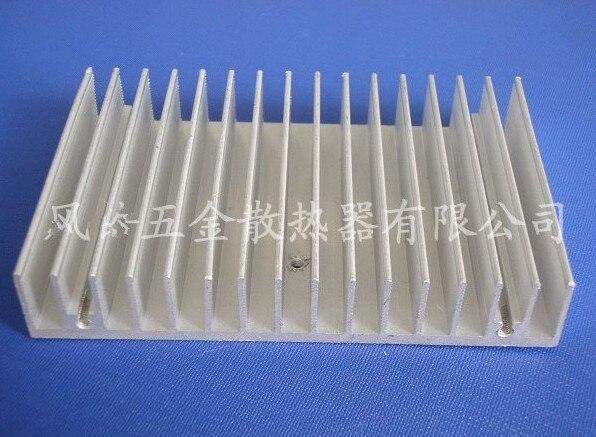 Free Ship Radiator aluminum LED Heatsink aluminum plate electronic module radiator fin 100*18*100mm LED PCB Custom Heatsink 1pcs free shipping ssr soild state relay radiator radiator fin other spare parts mini