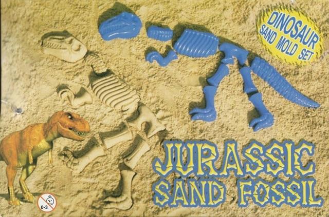 2015 горячая распродажа Abs пластик детские Sandbeach забавный песок динозавров костей скелета пляж игрушки дети летние игрушки для детей