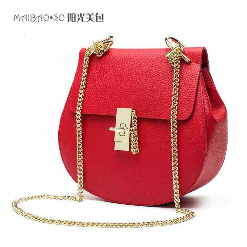 2017 Women Bag Fashion Women Messenger Bags With Pig Lock Chain Shoulder Bag High Quality PU