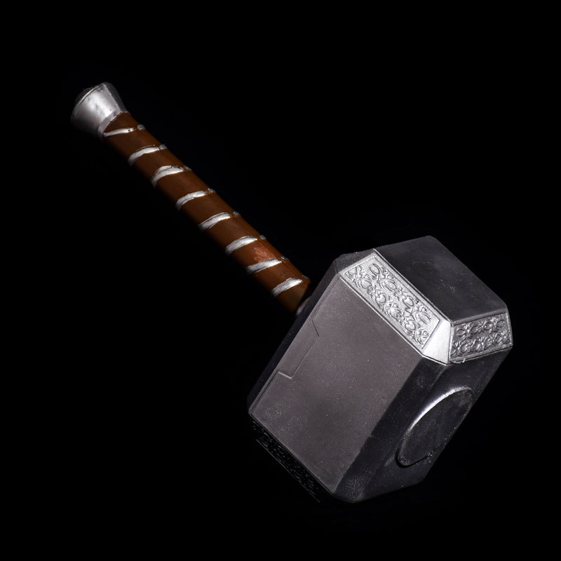 PU HAMMER OF THOR 1:1 realistic game weapons toys cosplay anime movie props