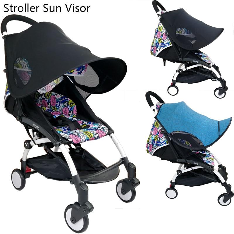 Baby Stroller Sun-shading Cover Ultraviolet-Proof Sun Visor For Babyzen YOYO+ YOYA And High Landscape Stroller Accessories