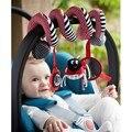 Bebé bebé de juguete conejo cochecito cama colgante del traqueteo suave de la felpa Musical móvil juguete Coccinellidae cochecito de bebé / cama / cuna colgante juguete