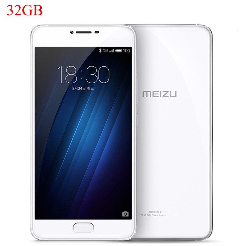 Цена за Оригинальный meizu u10 глобальной frimware 5.0 дюймов fhd 1080 P mtk 2.5d Helio P10 Окта основные 3 ГБ RAM 32 ГБ ROM Сотовый Телефон Отпечатков Пальцев