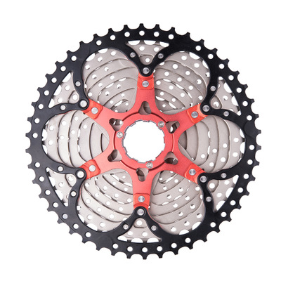 ZTTO bicycle 10 speed truck flywheel 11 46T 10 S 10v 46t k7 wide ratio mountain bike free wheel for 10 v 10 speed sprocket parts in Bicycle Freewheel from Sports Entertainment