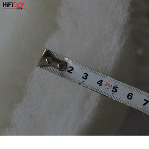 Image 4 - HIFIDIY LIVE 0.2M Polyester Fiber Wool Acoustic insulation  material sound absorbing cotton white cotton flame retardant 1m*0.2m