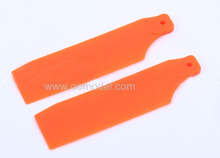 ALZRC 450 Pro 450 PS Tail Blade Fluorescent Orange H45PS14B  for 450 rc helicopters Free Track Shipping
