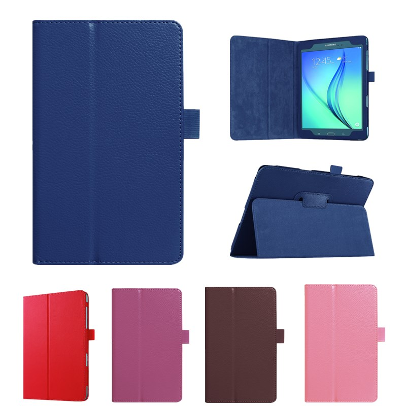 2017 New Solid Leather Case For Samsung Galaxy Tab A 8.0