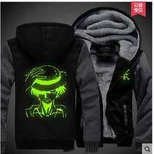 One Piece Luminous Thick Jacket Hoodie