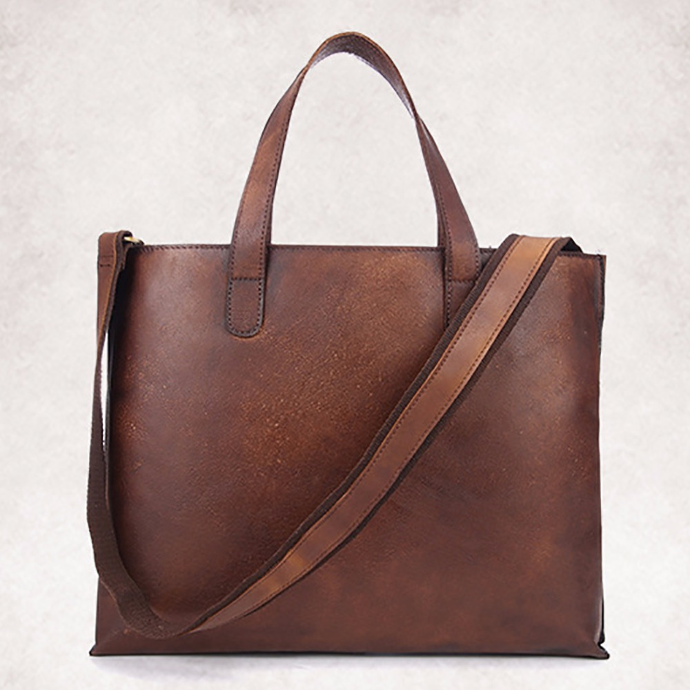 New 100% Genuine Leather Men Business Tote Bag Handbag Casual Crossbody Messenger Shoulder Bags High Quality Laptop Briefcase genuine leather crossbody messenger shoulder bag men business cowhide tote high quality travel casual male bags lj 962