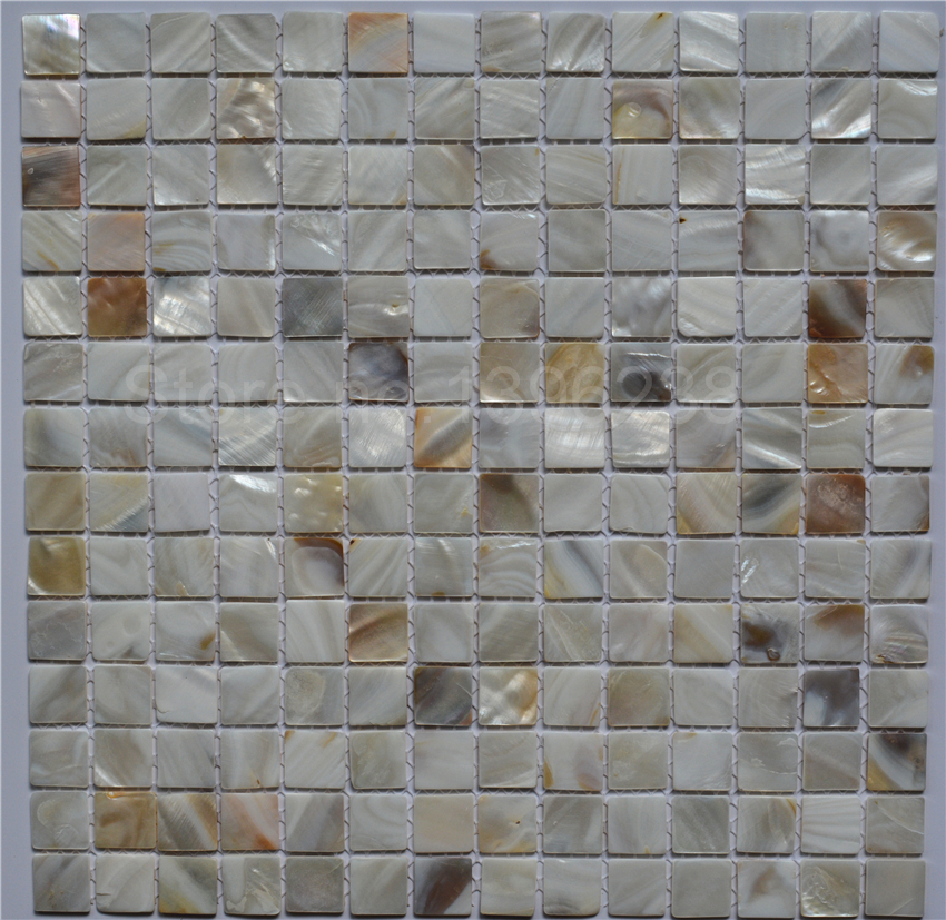 Mother of pearl Natural Shell Mosaic kitchen Backsplash Bathroom floor Home wall background decor waistline DIY sticker,LSBK2001