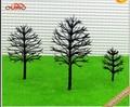 4cm-12cm model making architecture each size ho, n ,g scale model train layout miniature plastic model tree arm