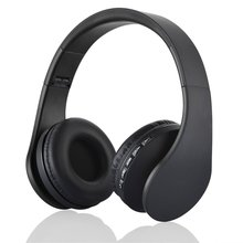 Foldable Wireless Bluetooth Headset 4 in 1 Wireless Stereo Bluetooth 3.0 + EDR FM headphones Headset Earphone With Mic New