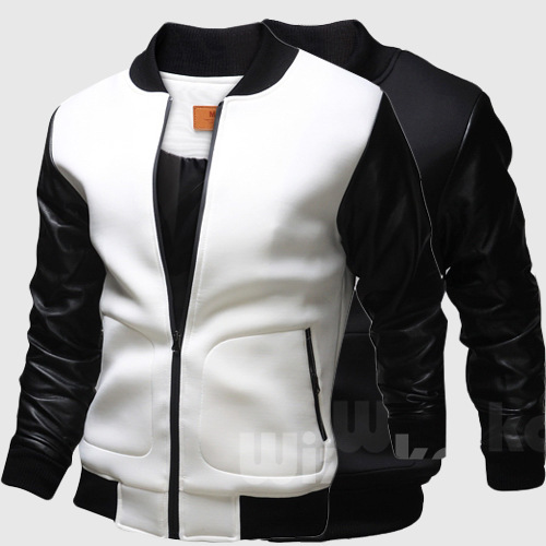 Aliexpress.com : Buy Leather Baseball Jacket Men New 2016 Leather ...