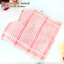 Mercerized towel dry towel light thin Washing will not fall cotton towel 30 cotton yarn towel with thin section of Chinese chara