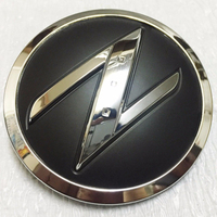 3D Chrome Z Symbol Car Auto ABS Side Fender Emblem Badge Stickers For NISSAN 350Z 370Z