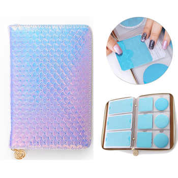 BORN PRETTY 72 Slots Holographic Holo Snakeskin Stamping Plate Colletion Holder Nail Art Plate Organizer - DISCOUNT ITEM  40% OFF All Category