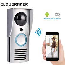 купить WiFi Smart Wireless Security DoorBell HD 720P Visual Intercom Recording Video Door Phone Remote Home Monitoring Night Vision дешево