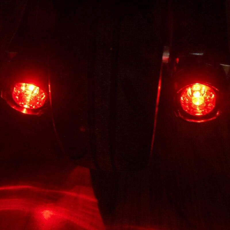 Roller Teile & Zubehör Selbstlos Jack Heißer Carbon Faser Elektrische Roller Zubehör Hinten Schwanz Licht Warnung Licht Auto Schwanz Licht Dekoration Nacht Sicherheit Licht Durchblutung Aktivieren Und Sehnen Und Knochen StäRken
