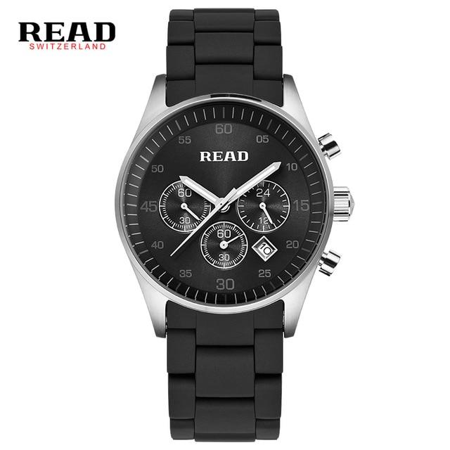 READ watch quartz men's watch multifunction watch R6080G цена