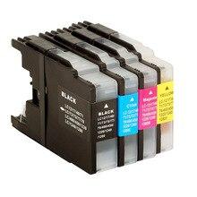 1 Компл. LC1280 Совместимый Картриджи Для Brother LC1280 LC1280 MFC-J430W MFC-J5910DW MFC-J625DW MFC-J6510DW MFC-J6710DW Принтера