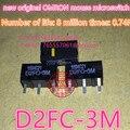(10PCS) new original mouse micro switch D2FC-3M mouse button