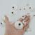 Sistemas de La Joyería Plateado Habesha Etíope de Cadena Pendiente/Gargantillas Collar/Cadena de La Frente/Aretes/Brazalete/Horquilla/anillo #028806