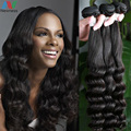 Newness Hair Products 7A 2016 New Style Brazilian Virgin Human Hair Weave 3 Bundles Straight Loose Wave 6A Grade 100%