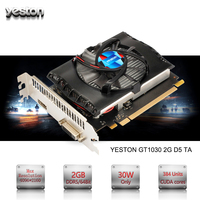 Yeston GeForce GT 1030 GPU 2GB GDDR5 64 bit Gaming Desktop computer PC Video Graphics Cards support PCI-E X4 3.0