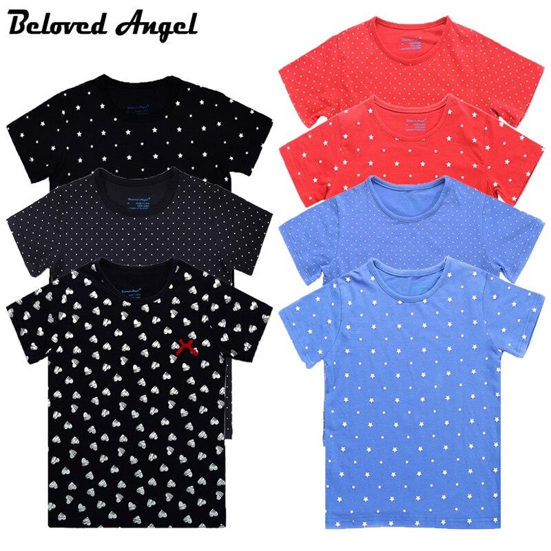 8d0b1337d 2018 nuevos bebés de verano ropa niños de manga corta Camiseta o-cuello  100% algodón niñas impresión marca camiseta Niño camiseta