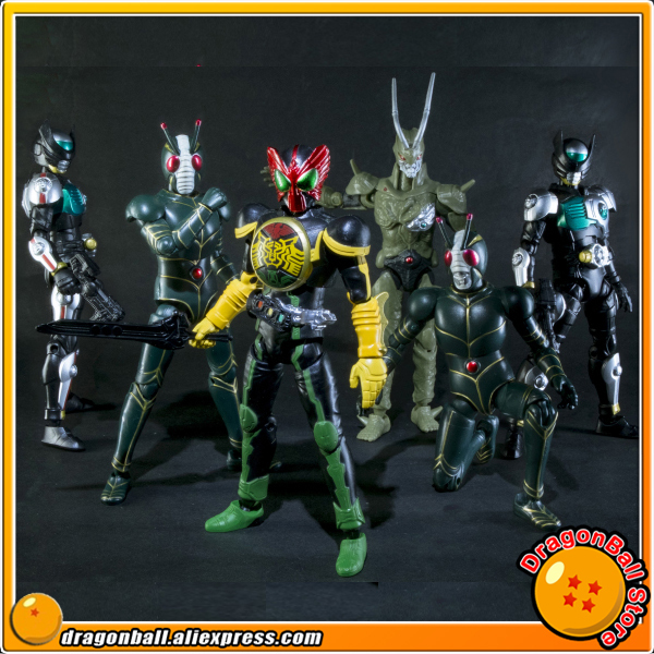 Original BANDAI Tamashii Nations SHODO SHOKUGAN VS vol.7 Action Figure - Kamen Rider VS7 Set of 6 Pcs dmz vol 12 five nations ny