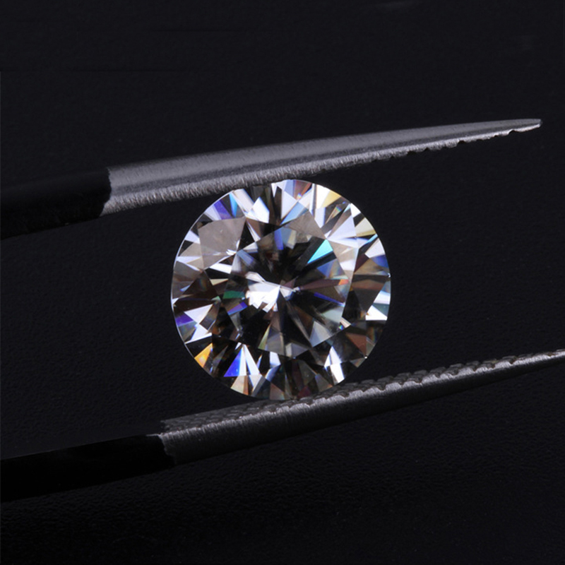 Round Brilliant Cut 9mm 3ct Carat IJ Color Loose Moissanite Lab Created Moissanites For Engagement RingsRound Brilliant Cut 9mm 3ct Carat IJ Color Loose Moissanite Lab Created Moissanites For Engagement Rings