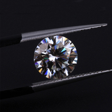 Round Brilliant Cut 9mm 3ct Carat IJ Color Loose Moissanite Lab Created Moissanites For Engagement Rings