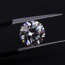 Taglio Brillante rotondo 9 millimetri 3ct Carat IJ Colore Allentato Moissanite Lab Creato Moissanites Per Anelli di Fidanzamento