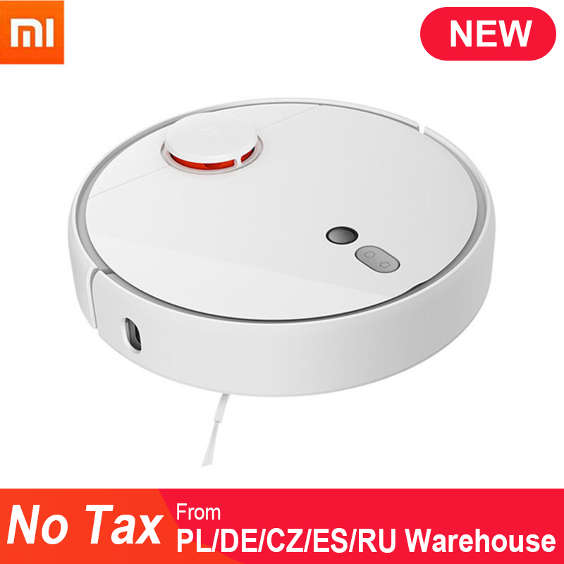 Original Xiaomi Mi Robot Vacuum Cleaner 1S for Home Automatic Sweeping Charge Smart Planned WIFI APP Remote Control Dust Cleaner-in Vacuum Cleaners from Home Appliances    1