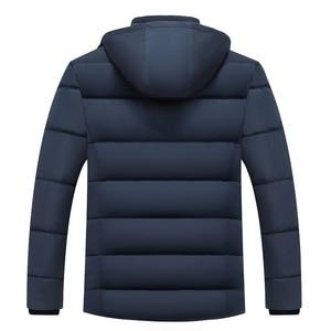 Image 4 - Dropshipping 2020 Hot Fashion Hooded Winter Jas Mannen Dikke Warme Heren Winter Jas Winddicht Vader Gift Parka