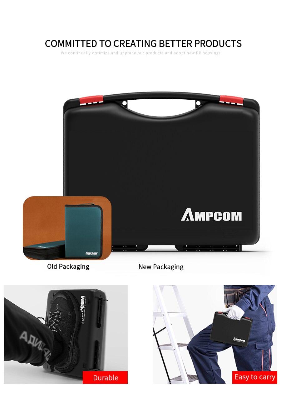 Kit de ferramentas de rede, ampcom 11