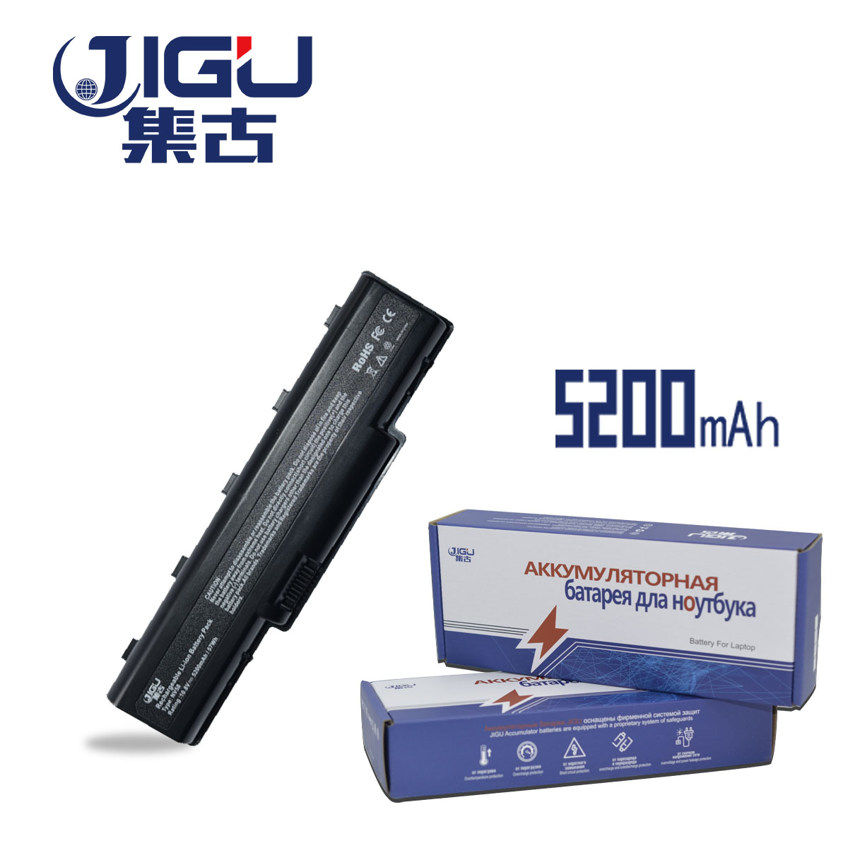 JIGU Laptop Battery AS09A56 AS09A70 As09a41 FOR Acer EMachines E525 E625 E627 E630 E725 G430 G625 G627 G630 G630G G725 As09a31 cltgxdd us 050 usb jack for lenovo g550 g550a g550g g550m g550 for acer aspire 5743z emachines e520 e525 e725