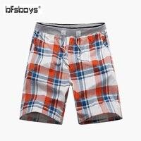 BFSBOYS 2017 Hot Summer Beach Shorts Men Board Shorts Quick Dry Polo Boardshorts Swimwear Hawaiian Shorts