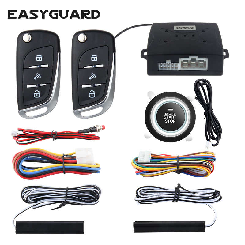 Detail Feedback Questions about EASYGUARD Car security alarm