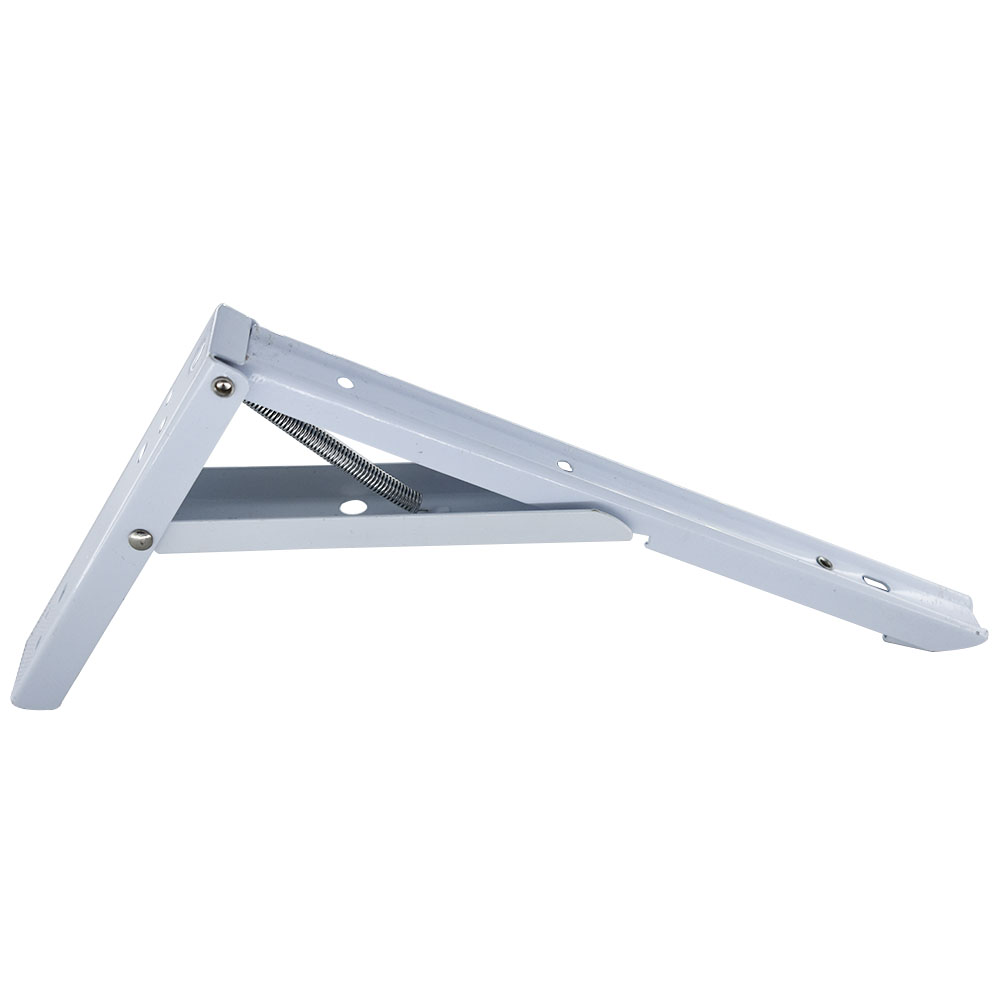 Cold-rolled Steel Folding Shelf Bracket 12 Inch Triangle Support 131x295mm