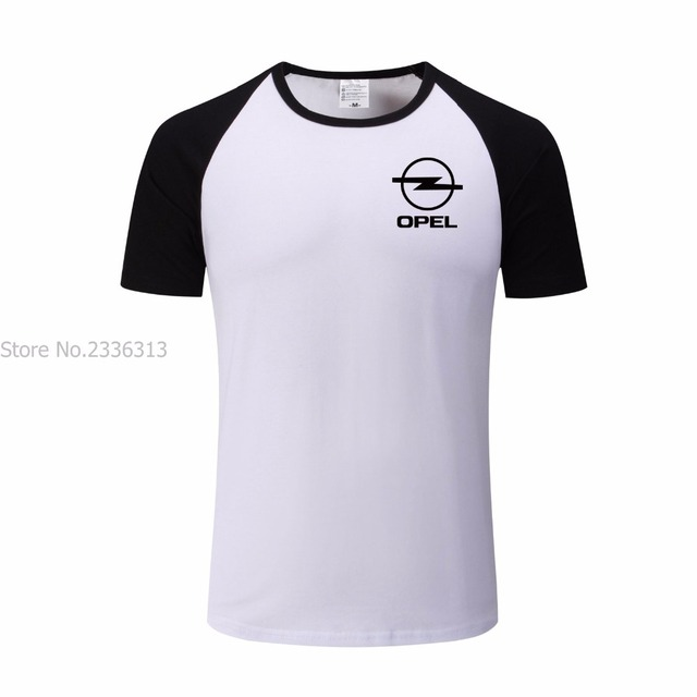 Cotton T Clothes Summer Diy Tshirts Shirt Raglan Casual Lycra Opel iPXkOZu