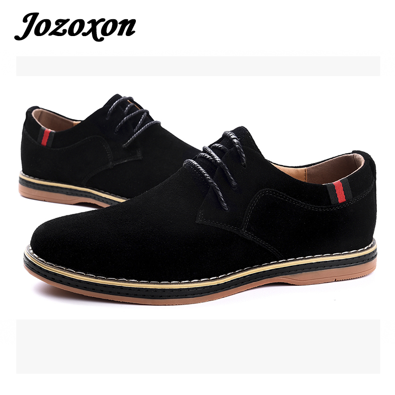 Jozoxon Autumn Spring Men's Casual Shoes Moccasins Leather Suede Krasovki Men Loafers Summer Luxury Brand Fashion Male Boat Shoe branded men s leather loafers leisure casual suede leather shoes for men business slip on boat shoes moccasins penny loafers